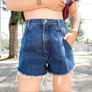 Vintage Rocky Mountain Ultra High Rise Jean Shorts